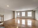 open floor plan - 5108 D ST SE, WASHINGTON