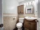 Half bath on the main floor - 5108 D ST SE, WASHINGTON
