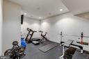 Lower Level Gym - 18278 RIVIERA WAY, LEESBURG