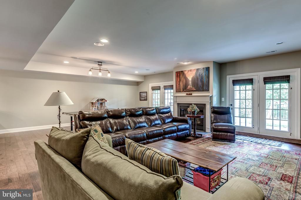 Lower Level Rec Room - 18278 RIVIERA WAY, LEESBURG