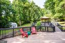 Tiki Bar and view of side yard - 2720 BROOKE RD, STAFFORD