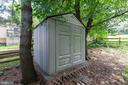 Exterior Rear- Shed - 265 LONGFORD CT, FREDERICK