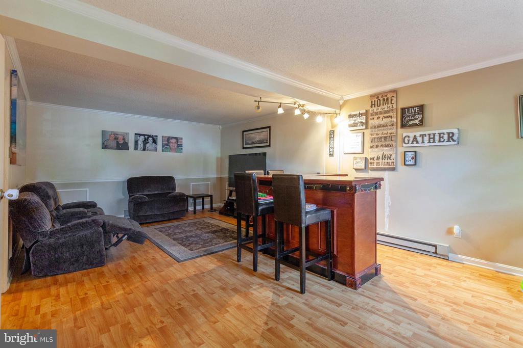 Recreation Room with Built in bar - 265 LONGFORD CT, FREDERICK