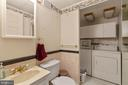 Lower Level full bath/ Laundry - 265 LONGFORD CT, FREDERICK