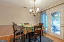 Dining Area - 265 LONGFORD CT, FREDERICK
