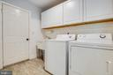 Mud Room with Utility sink and cabinets - 2720 BROOKE RD, STAFFORD