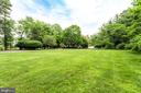 Deep Front Yard offers privacy from the street. - 11256 WAPLES MILL RD, OAKTON