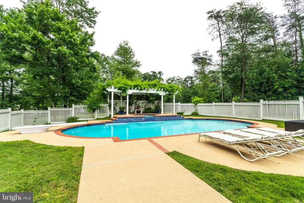 Heated Pool and Spa - 11256 WAPLES MILL RD, OAKTON