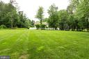 Large, level rear yard. - 11256 WAPLES MILL RD, OAKTON