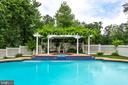 Heated Pool & Spa - 11256 WAPLES MILL RD, OAKTON