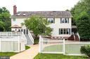 Rear view of house. - 11256 WAPLES MILL RD, OAKTON