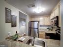 Great storage + counter space for a 8'x7' kitchen - 1150 K ST NW #309, WASHINGTON