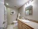 Hall bath - 1150 K ST NW #309, WASHINGTON