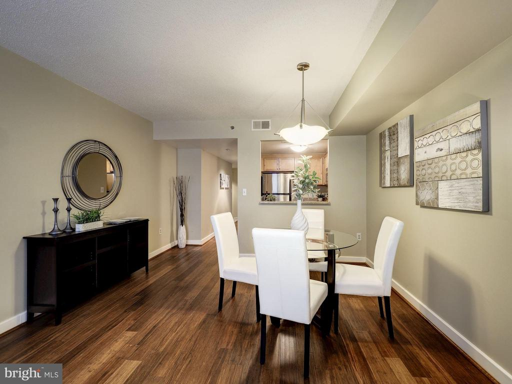 Separate table space for dining - 1150 K ST NW #309, WASHINGTON