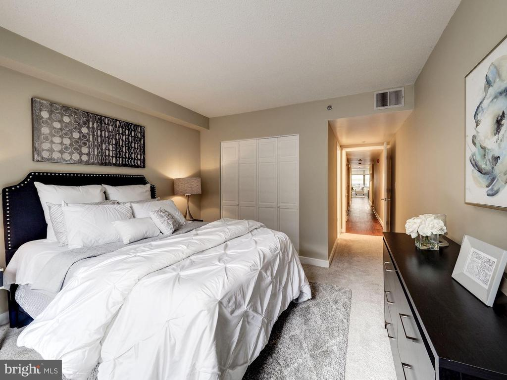 New carpet in bedrooms - 1150 K ST NW #309, WASHINGTON