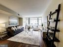 NEW wood floors and carpet in bedrooms - 1150 K ST NW #309, WASHINGTON