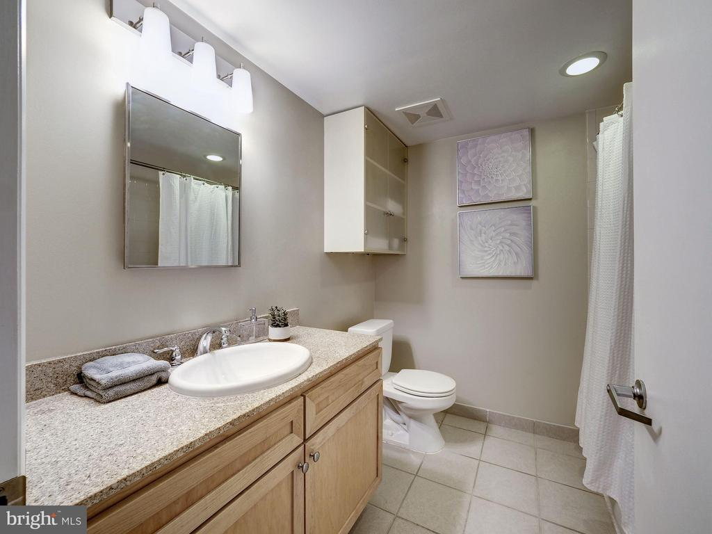 Primary bath - 1150 K ST NW #309, WASHINGTON