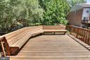Deck - 8873 WINDING HOLLOW WAY, SPRINGFIELD