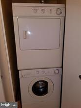 Stack Washer & Dryer in Half Bath - 7581 MARGATE CT #202, MANASSAS