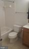 Upstairs hall bath - 1671 S HAYES ST #B, ARLINGTON