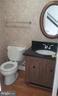 1st floor powder room - 1671 S HAYES ST #B, ARLINGTON