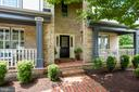Brick Walkway to Full Front Porch - 20985 NIGHTSHADE PL, ASHBURN