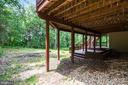 Lower Level Deck opens to Wooded Lot - 20985 NIGHTSHADE PL, ASHBURN