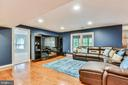 Entertainment Space w/Surround Sound Speakers - 20985 NIGHTSHADE PL, ASHBURN