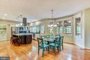 Breakfast Rm and Gourmet Kitchen~WOW! - 20985 NIGHTSHADE PL, ASHBURN