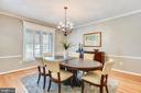 Dining Rm w/Plantation Shutters~Custom Paint - 20985 NIGHTSHADE PL, ASHBURN