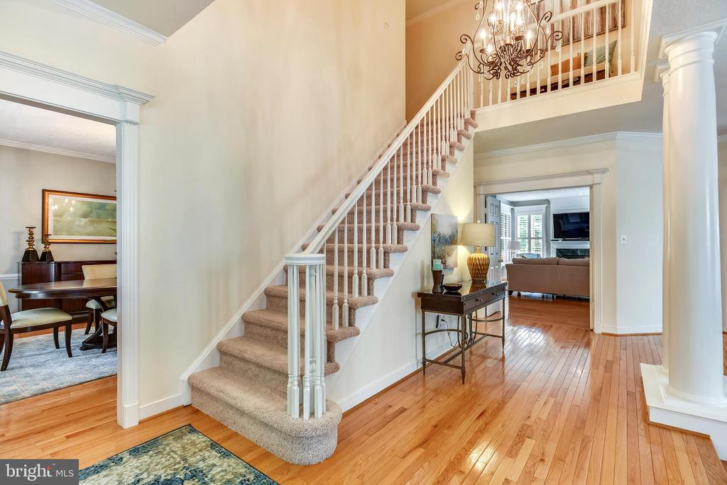 Inviting Foyer opens to Living and Dining Rooms - 20985 NIGHTSHADE PL, ASHBURN