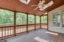 Screened Porch with Skylights - 20985 NIGHTSHADE PL, ASHBURN