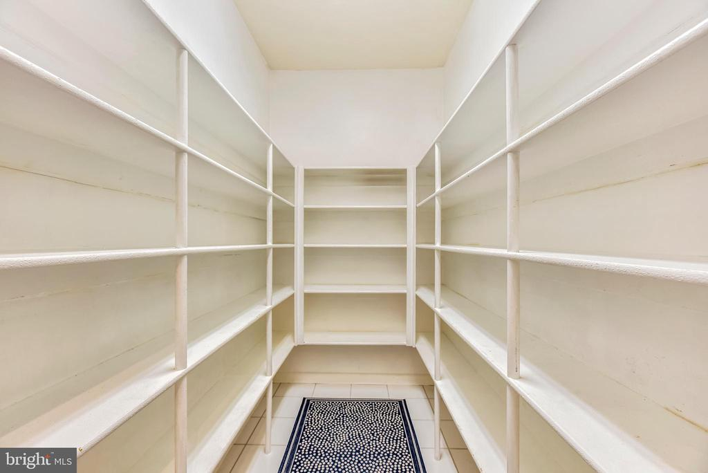 GENEROUSLY SIZED Walk-In Pantry~LOVE IT! - 20985 NIGHTSHADE PL, ASHBURN