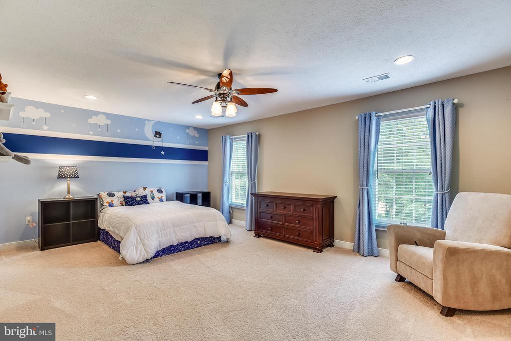 Bedroom w/Ceiling Fan~Recessed Lts~Plush Carpeting - 20985 NIGHTSHADE PL, ASHBURN