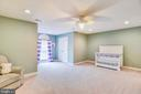Lovely Bedrm w/2 Closets~Ceiling Fan~Custom Paint - 20985 NIGHTSHADE PL, ASHBURN