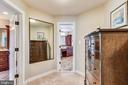 Dressing Room leads to Owner's Lux Bathrooms - 20985 NIGHTSHADE PL, ASHBURN