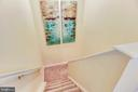 Back Stairs from Kitchen  to Upper Level - 20985 NIGHTSHADE PL, ASHBURN