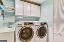 Newly Added Bedroom Level Laundry Room~YES PLEASE! - 20985 NIGHTSHADE PL, ASHBURN