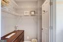 Walk-in closet - 1439 EUCLID ST NW #302, WASHINGTON