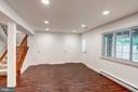 Extra Storage Space in Family Room - 11712 MOSSY CREEK LN, RESTON