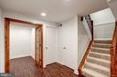 Downstairs is a fully finished Basement with a Den - 11712 MOSSY CREEK LN, RESTON