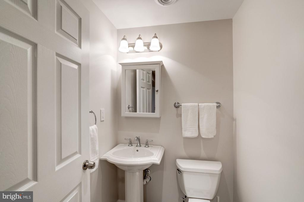 Full Bathroom in Lower Level - 11712 MOSSY CREEK LN, RESTON