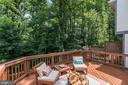 Private Deck - 11712 MOSSY CREEK LN, RESTON