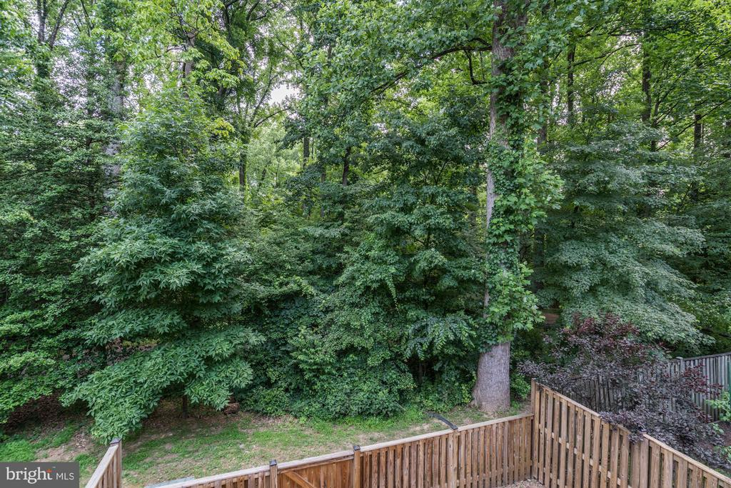 Gorgeous views from the deck - 11712 MOSSY CREEK LN, RESTON