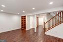 with custom built-ins - 11712 MOSSY CREEK LN, RESTON