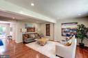 Open Floorplan - 11712 MOSSY CREEK LN, RESTON