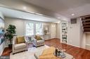 Bright Spacious Living Room - 11712 MOSSY CREEK LN, RESTON