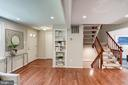 Hardwood floors, floating stairs, and built ins! - 11712 MOSSY CREEK LN, RESTON