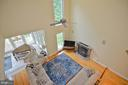 2 story family room - 4560 FOREST DR, FAIRFAX