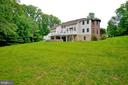 large back yard - 4560 FOREST DR, FAIRFAX
